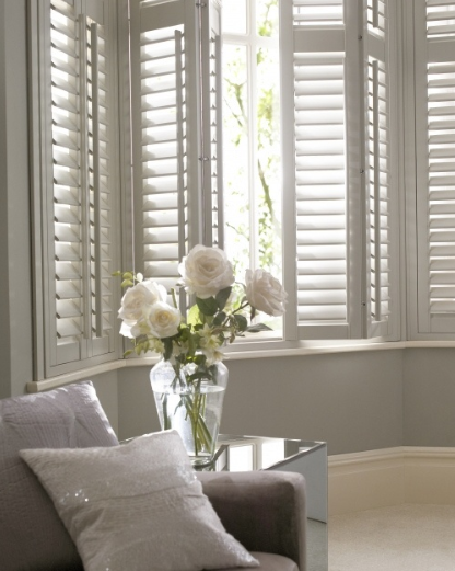 White Plantation Shutters, if only they weren't so expensive!