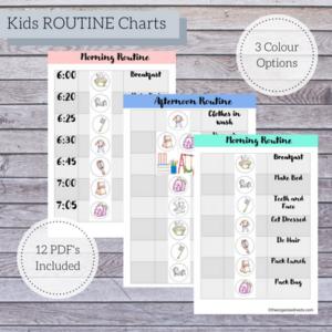Kids Routine Charts